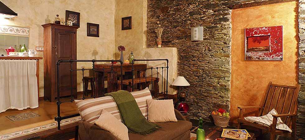 Apartamento Rural Augua Salón
