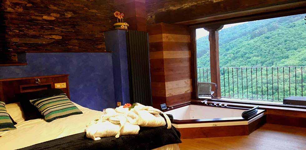 Apartamento De Luxe En Verde Jacuzzi y habitación