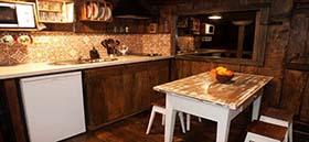 Apartamento El Bosque Detalle de la Cocina