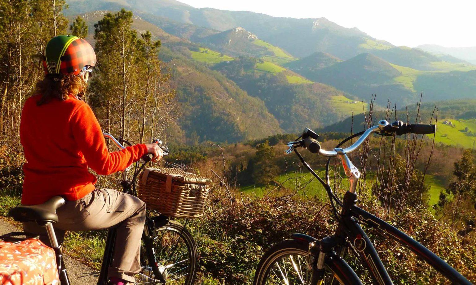 Ruta en bici electrica por Castrillon