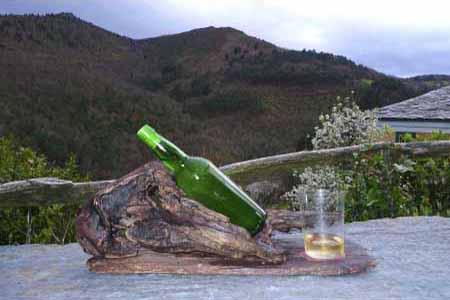 Paisaje desde el Mirador de el Bosque de las viñas