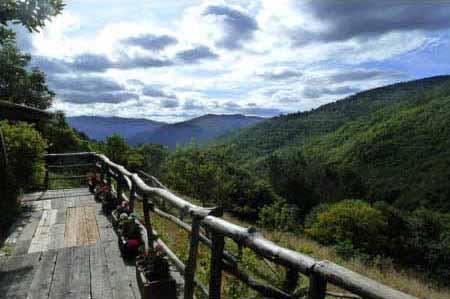 Vista desde el Mirador de El Bosque de las Viñas
