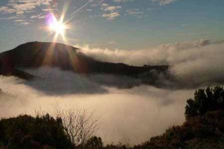 Alto de la Garganta en el Occidente de Asturias