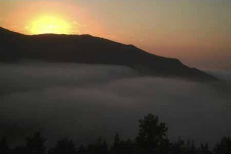 Admirando la Puesta de Sol desde Boal en el Occidente de Asturias